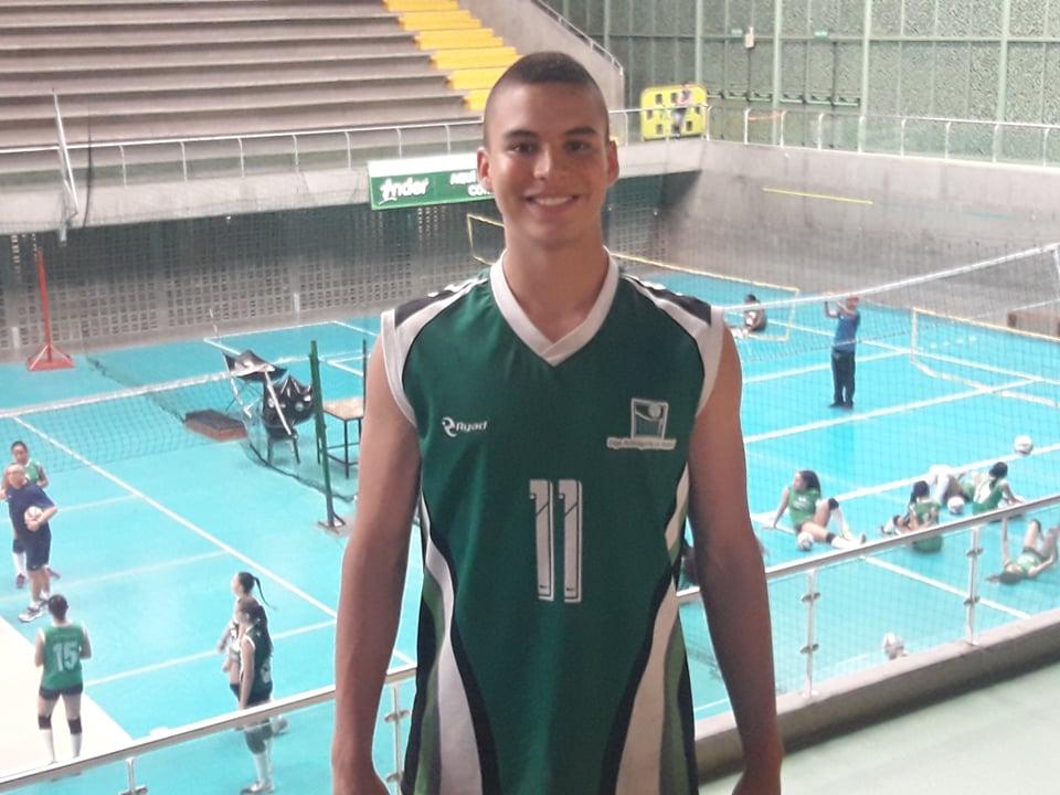 Historia del deportista Samuel Jaramillo Puerta. Convocado por la Selección Colombiana de Voleibol