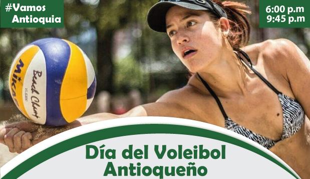 31 de mayo, Día del Voleibol antioqueño