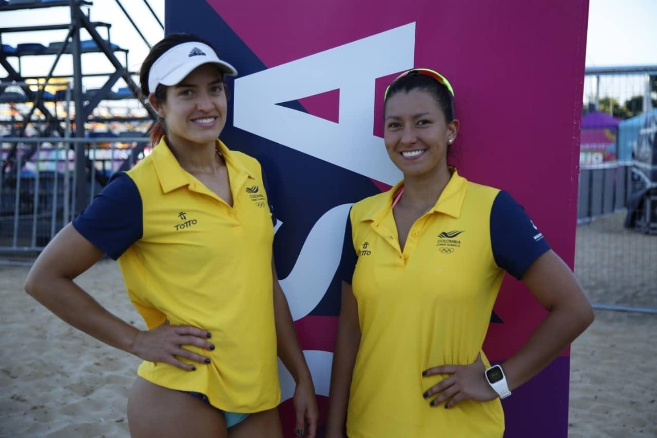 Diana Marcela Ríos Arcila y Yuli Ayala disputarán el Mundial de Voleibol de Playa